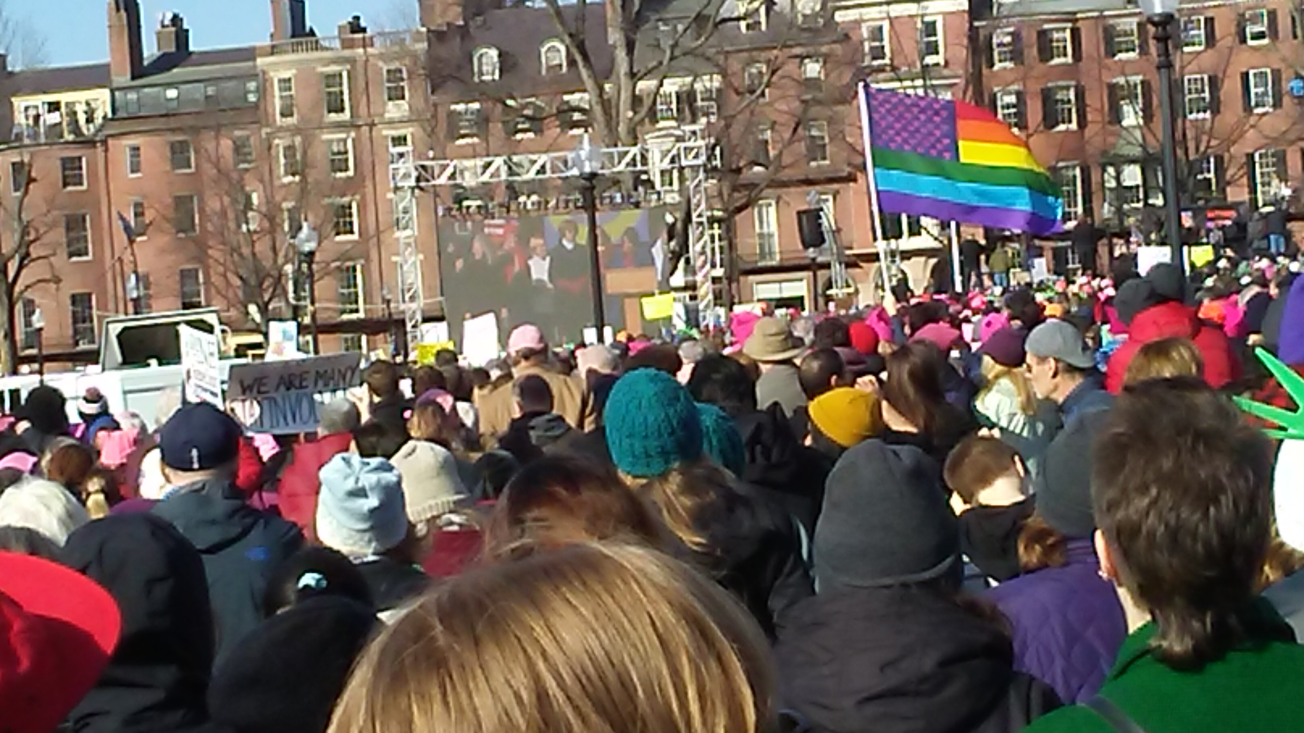 Boston Women's March