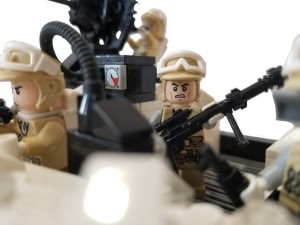 LEGO Rebels with guns